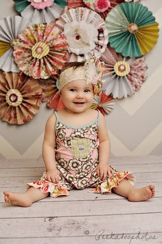 Nursery Rhyme headband made to match Matilda by CozetteCouture, $32.95