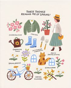 Tante S!fr@ loves this pin These things remind me of spring :) How about you? I hope you get a good feeling like the sunshine in spring when you see this ❤ . 여러분은 봄!