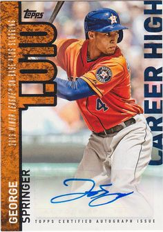 George Springer  Houston Astros (2014–present)