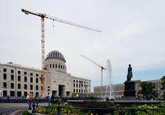 Berlin   Stadtschloss - Rekonstruktion (Humboldt-Forum)   im Bau