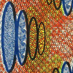 African Wax Print Fabric #173