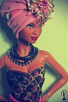 African Barbie by Leo Christian