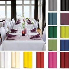 10 Meter Tischdeckenrolle von Duni in 17 Farben, Breite 125 cm Bild 1