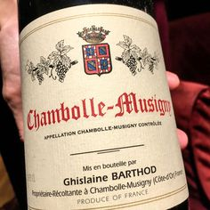 2004 Chambolle-Musigny Ghislaine Barthod Burgundy France From a modest 6.73ha managed with great care but the 2004 suffered from a lady bird explosion which brought lots of green vegetal flavours with fruit still there. I suggest pairing this with something to eat. ______________________________________________________ #ChambolleMusigny #GhislaineBarthod #Burgundy #Sommelier #FineWine #BurgundyWine #2004 #TastingNotes #WineTasting #WinesOfInstagram #Wine #Winestagram #InstaWine #WineTime…
