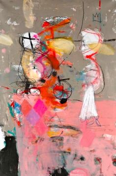 artur akopjan love his use of marks and scribbles Art And Illustration, Abstract Expressionism, Abstract Art, Abstract Paintings, Modern Art, Contemporary Art, Collage, Graphic, Love Art
