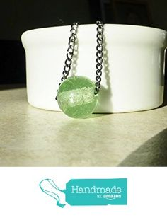 Mint Green Glass Bead on Chain Necklace / Minimalist Jewelry http://www.amazon.com/dp/B01811K8JW/ref=hnd_sw_r_pi_dp_wmmswb0KB2F8W #handmadeatamazon