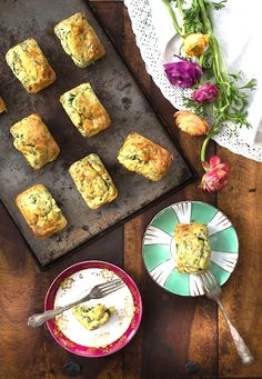 Try this Ramp + Goat Cheese Puffs recipe ASAP.