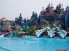 Water wonderland! Suoi Tien Park — Ho Chi Minh City, Vietnam