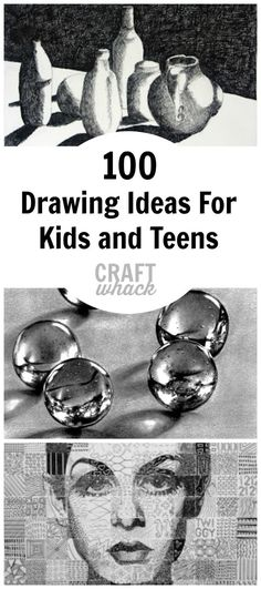 100 Crazy Cool Drawing Ideas for Kids for 2021