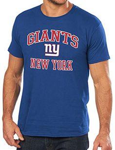 New York Giants Majestic NFL Heart