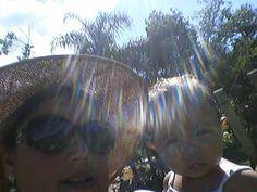 Eu e minha pretinha Clarinha!*_*