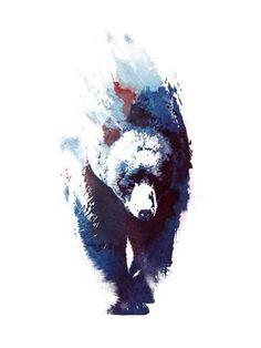 Death Run Canvas Art by Robert Farkas - Tattoo ideen amour fleur Bruder Tattoo, Madara Susanoo, Painting Prints, Art Prints, Paintings, Bear Art, Animal Tattoos, Body Art Tattoos, Ship Tattoos