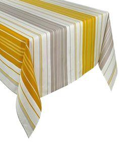 nappe rectangulaire enduite 200cm iraty teck cette tr s belle nappe de table petite taille. Black Bedroom Furniture Sets. Home Design Ideas