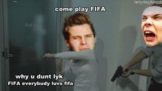 why u dunt lyk FIFA ashtun Fetus 5sos, Luke And Ashton, Teen Posts, 5 Seconds Of Summer, Fifa, God, Dios, 5secondsofsummer, Allah