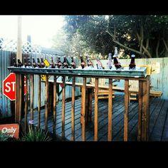 Garden my back yard bar top