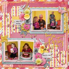 Time to Party by Betsyfru. Kits: multiple kits/designers http://scrapbird.com/