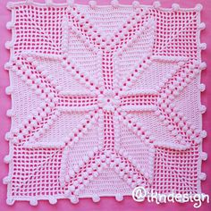 Crochet - (My Picot) Diagramed Stitch Patterns Filet Crochet, Crochet Motifs, Crochet Stitches Patterns, Crochet Chart, Crochet Squares, Thread Crochet, Crochet Designs, Crochet Doilies, Crochet Pillow Cases