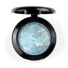 Single Baked Eye Shadow Powder Makeup Palette in Shimmer Metallic Glitter Cream Eyeshadow Palette By UBUB for eyes makeup