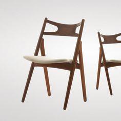 Hans J. Wegner: Sawbench Chair, 1952