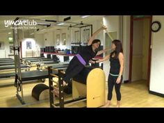 ▶ Ladder Barrel demo Pilates studio at Central YMCA - YouTube