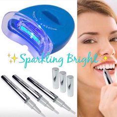 Special Delivery  Sparkling Bright Touch-Up Pens Are BACK IN STOCK W/Our New LED Accelerator Light For ONLY $30  You Can Use These Pens At Home  Or On The Go Most Effective AFTER Receiving Our Celebrity Teeth Whitening Treatment  Its Easy To Use Just Paint On Your Teeth & Go On About Your Daily Routine & Youll Definitely See Results Within 2 To 10 Days (For Maximum Whitening Apply Treatments Within 12hrs Of Each Other). Call/Txt 954-842-8748 To Order Your Sparkling Bright Touch-Up Pen T O D…