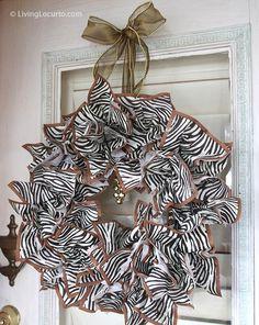 Napkin Wreath – DIY Holiday Craft