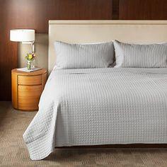 Sova 3-Piece Quilt Set (Queen, Grey)