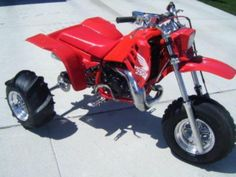 A clean Honda 250R.  Photo courtesy of Vintage Factory ATC Racer.