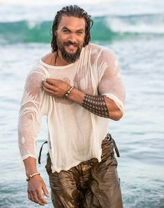 Jason Momoa photographed by Cybelle Malinowski for American Way men's fashion hot guys bearded men Jason Momoa Aquaman, Khal Drogo, Jason Moma, Game Of Thrones, Lisa Bonet, My Sun And Stars, Raining Men, Good Looking Men, Man Crush