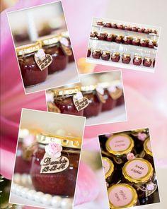 Wedding favours. Homemade strawberry jam. Wedding Favours, Wedding Ideas, Homemade Strawberry Jam, Favors, Vintage, Presents, Host Gifts, Wedding Keepsakes, Vintage Comics