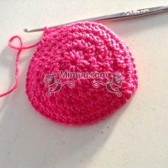 Amigurumi Bebekler İçin Şapka Yapılışı 3