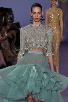 Georges Hobeika, Ball Dresses, Ball Gowns, Formal Dresses, Haute Couture Dresses, Handmade Tags, Information, Fashion 2020, Refashion