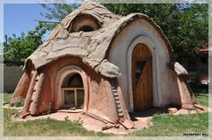 Awesome Earthbag House