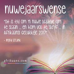 Afrikaans.com omskep jou woorde in 'n kaartjie Afrikaans Quotes, Wallpaper Pictures, Happy New Year, Xmas, Christmas, Navidad, Noel, Happy New Year Wishes, Natal