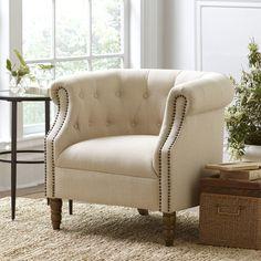 Hailey Tufted Arm Chair