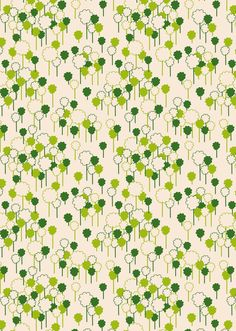 Forest in Off White from Woodlands by Khristian Howell - SPECIAL PRICE on Half Yard cuts $3.95 1/2 yard