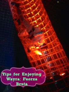 Tips for Enjoying Wayra Fuerza Bruta #NYC via @themamamaven