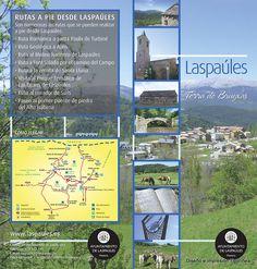 Folleto editado por el ayuntamiento de Las Paúles, diseñado e impreso por Tipolínea.
