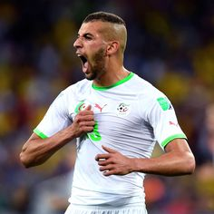 Leicester City agree deal for Algeria striker Islam Slimani - sources