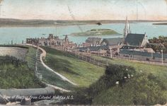 View OF Harbour From Citadel Halifax Nova Scotia Canada 1907 Macfarlane Postcard | eBay