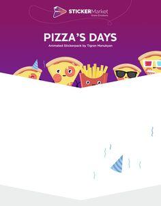 Ознакомьтесь с этим проектом @Behance: «Pizza's Days Animated Stickerpack» https://www.behance.net/gallery/49037235/Pizzas-Days-Animated-Stickerpack