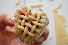 tarts - this would be cute to Rach.