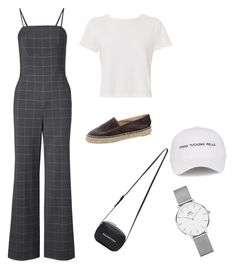 """""""Untitled #32"""" by angeline-mewengkang on Polyvore featuring RE/DONE, Chanel, Balenciaga, Natasha Zinko and Daniel Wellington"""