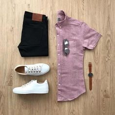 Are you wondering how to wear white sneakers for men or how to look sharp in simple jeans and casual shirt outfits? Then this 30 coolest casual street style looks is just the perfect guide you need to help you look AMAZING! Stylish Men, Men Casual, Casual Chic, Moda Blog, Casual Outfits, Fashion Outfits, Men's Outfits, Casual Attire, Nice Outfits