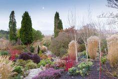 The Winter Garden at Bodnant Garden, Conwy County Borough, United Kingdom