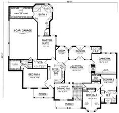 House Plan chp-5098 at COOLhouseplans.com