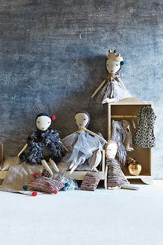 Hand-Stitched Rag Dolls
