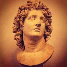 Alexander The Great Darius Iii, Greek Hair, Alexandre Le Grand, Greek Statues, Rome, Rite Of Passage, Alexander The Great, Pencil Art Drawings, Face Hair