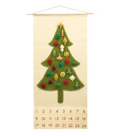 Flash Sale  Advent Calendar Pattern PDF  Felt by SugarHouseShop