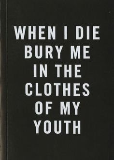 When I Die by Cali Dewitt & Mark Mccoy
